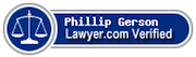 Phillip Gerson - Lawyer.com Verified
